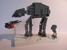 Microscale | Movie | Star Wars - Battle of Hoth | by M.Osmoc http://mocpages.com/moc.php/374085