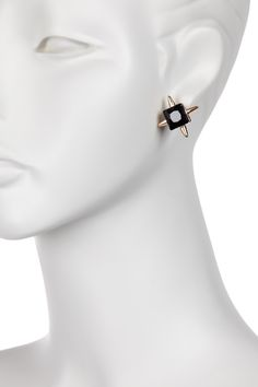 Onyx Dagger Earrings by Jules Smith on @HauteLook