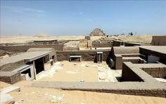 Egipto admite desaparición de piezas en sitio arqueológico de Saqara