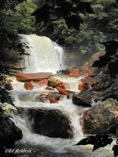 Douglas Falls, Thomas, West Virginia, Tucker County, Allegheny Highlands Region