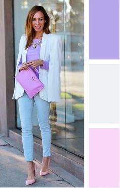 Colour combinations fashion, color combinations for clothes, color combos. Colour Combinations Fashion, Color Combinations For Clothes, Color Blocking Outfits, Fashion Colours, Colorful Fashion, Color Combos, Casual Outfits, Fashion Outfits, Fashion Tips