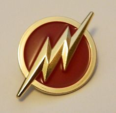 DC Comics The Flash TV Series Lightning Bolt Logo Metal Enamel Pin NEW UNUSED | Collectibles, Comics, Other Comic Collectibles | eBay!