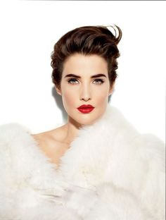 Vanity Fair- How I Met Your Mother's Cobie Smulders on Where She Finds Inspiration -Gorgeous! Cobie Smulders, Robin Sherbatsky, Gorgeous Women, Beautiful People, Amazing Women, Celine, Blush, Canadian Actresses, How I Met Your Mother