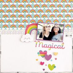 Product Spotlight: Unicorns, Rainbows & Sparkles - Oh my! with @paperissuesteam by Becky Stidham