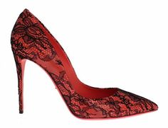Orange Leather Lace Stiletto Heels Shoes Dolce & Gabbana /// Was Stiletto Shoes, Shoes Heels, Pumps, Orange Leather, Leather And Lace, Floral Lace, Christian Louboutin, High Heels, Brand New