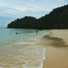 The beach at Cape Panwa Hotel - photo courtesy of Instagram and aileengarner