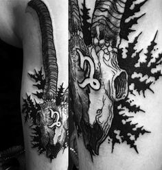 22 Capricorn Tattoos Fitting For These Grounded Planners