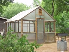 Greenhouses : Austin and Central Texas : Acacia Specialty Builders : New Greenhouses : Greenhouse Repair : Greenhouse Upgrades Retractable Shade, Hybrid Design, Central Texas, Shade Structure, Radiant Heat, Extruded Aluminum, Back Patio, Types Of Plants, Greenhouses