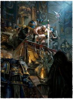 art-of-40k: And with that were done with the Space Marines. Beautiful Space Marines art now they had a lot going for them just stunning!
