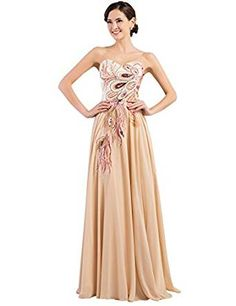 GRACE KARIN Long Strapless Embroidery Prom Dress A-line CL6168 (Multi-Colored)- http://www.amazon.com/dp/B00UYWHOI0/?tag=shops0d-20
