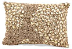 Luminescence 10x14 Pillow, Antique Gold
