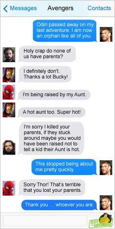Why u do dis Thor Odinson - 9GAG Avengers Humor, Marvel Jokes, Marvel Comics, Avengers Texts, Superhero Texts, Funny Marvel Memes, Marvel Heroes, Marvel Avengers, Captain Marvel