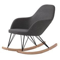 Rocking chair Malibu RENDEZ VOUS DECO : prix, avis & notation, livraison. Prélassez-vous dans un Rocking chair Malibu ! Ce fauteuil design en tissu et de frêne est un modèle de confort. Grâce à son assise rembourrée de mousse haute densité, le fauteuil à bascule Malibu vous apporte votre dose de bien-être quotidienne. Il mesure L 67 x l 98 x H 89 cm et soutient ainsi parfaitement l'ensemble du dos. ...