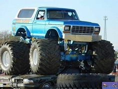 Old school monster trucks used to be like