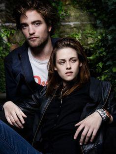 Rob Pattinson + Kristen Stewart Italian Vanity Fair 2008