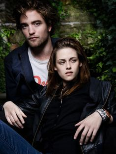 Kristen Stewart ❤ Robert Pattinson ❤ Rob Pattinson + Kristen Stewart Italian Vanity Fair 2008