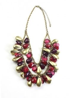 Berry Beautiful Necklace $18.00