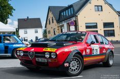 Photo gallery, rally results and race report from the Eifel Rallye Festival held July in the Eifel Mountains of Western Germany. Alfa Gtv, Alfa Alfa, Alfa Romeo Gtv6, Alfa Romeo Cars, Pretty Cars, Special Pictures, Rally Car, Car And Driver, Amazing Cars