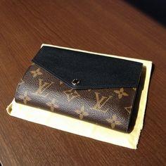 ルイ・ヴィトン【LOUIS VUITTON】 ポルトフォイユ・パラス・コンパクト M60990 モノグラム ノワール 財布