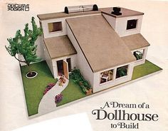 free modern doll house plans | Cardboard Dollhouse Plans