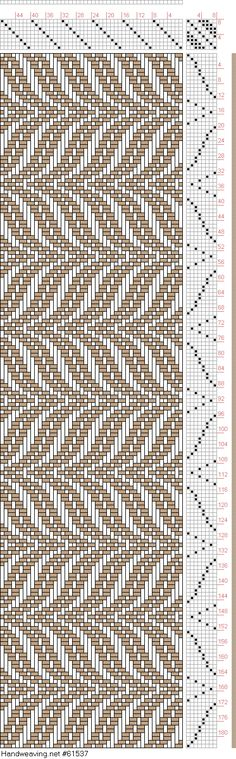 draft image: Undulating Twill with straight twill treadling, Lora  Burgess, 8S, 8T