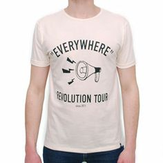 T-Shirt Tour White by R3lov