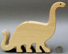 Ballena Piggy Bank moneda Animal madera bancos por ArksAndAnimals