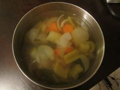 Yeast Free Vegetable Broth – Candida Diet Recipe