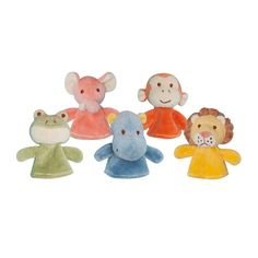 Jungle Finger Puppets (Organic Cotton)