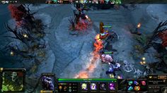 DOTA 2 - Witch Doctor Support Gameplay - Online 5 vs 5 Multiplayer