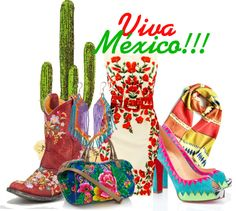 Viva Mexico I would wear that dress!!!