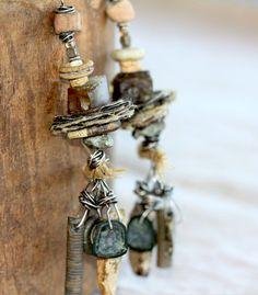 Sage Smudged Spirit Bundle Earrings - by Carol Perich of OriginArtifacts (etsy)