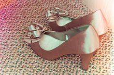 Dusky Pink Wedding Shoes #WeddingShoes #WeddingInspiration #Wedding