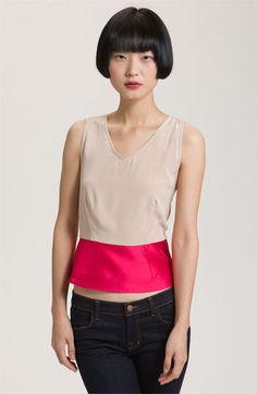 MARC BY MARC JACOBS 'Eames' Silk Colorblock Tank