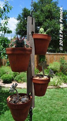 I like this wooden pot holder