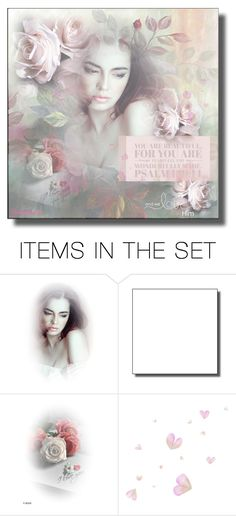 """You Are Beautiful ..For You are Fearfully & Wonderfully Made"" by jewelsinthecrown ❤ liked on Polyvore featuring art"