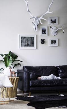 SVEN 'Oxford Black' sofa (via Trevor Olson)