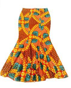 Kitenge jupe jupe longue Ankara jupes de sirène africain