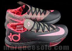 Nike KD VI- Black Atomic Pink
