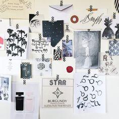 MaeMae & Co mood board | Block Print Social