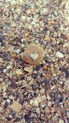 found my heart in the sand ❤