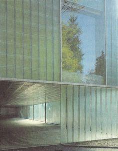 GIGON & GUYER    EXTENSION OF THE MUSEUM OF MODERN ART IN WINTERTHUR, 1993-95    •