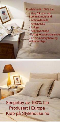 #hypoallergisksengetøy #linsengetøy #europeisksengetøy #lin Bed Pillows, Pillow Cases, Boutique, Home, Pillows, Ad Home, Homes, House, Boutiques