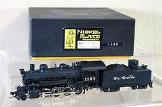Nickel Plate Products Japan Brass D RGW 2 8 0 Consolidation C 48 Loco 1195 My | eBay Selling for $320.34