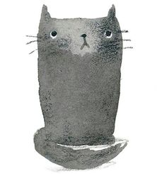 Cat illustration painting <3