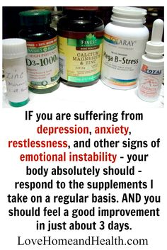 If you suffer from depression, anxiety and other emotional issues - it may just be that your body is lacking nutrients that it desperately needs to function
