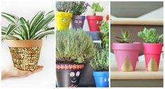 17 Idées DIY pour décorer vos pots de fleurs - Guide Astuces :