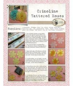 Crinoline Roses tutorial