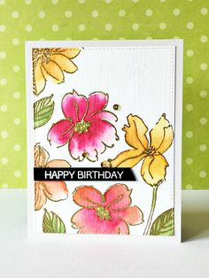 ALTENEW Wild Hibiscus ALTENEW Birthday Greetings Blogged