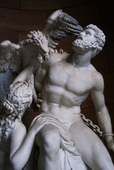 c0ssette: Reinhold Begas (German, 1831-1911), Prometheus.